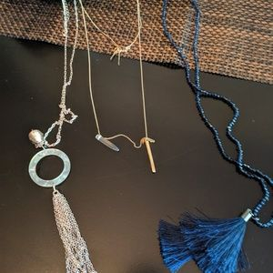 NWT 3 necklaces.  3 for 25.00